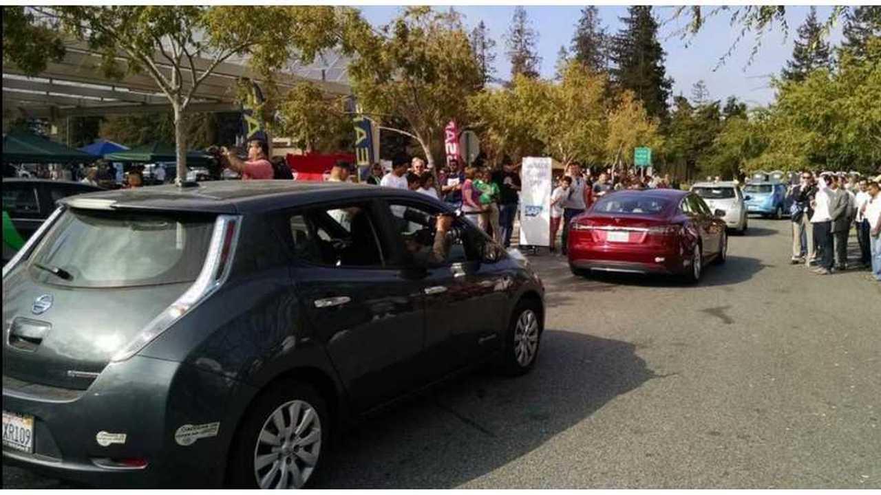 silicon valley ev parade 1