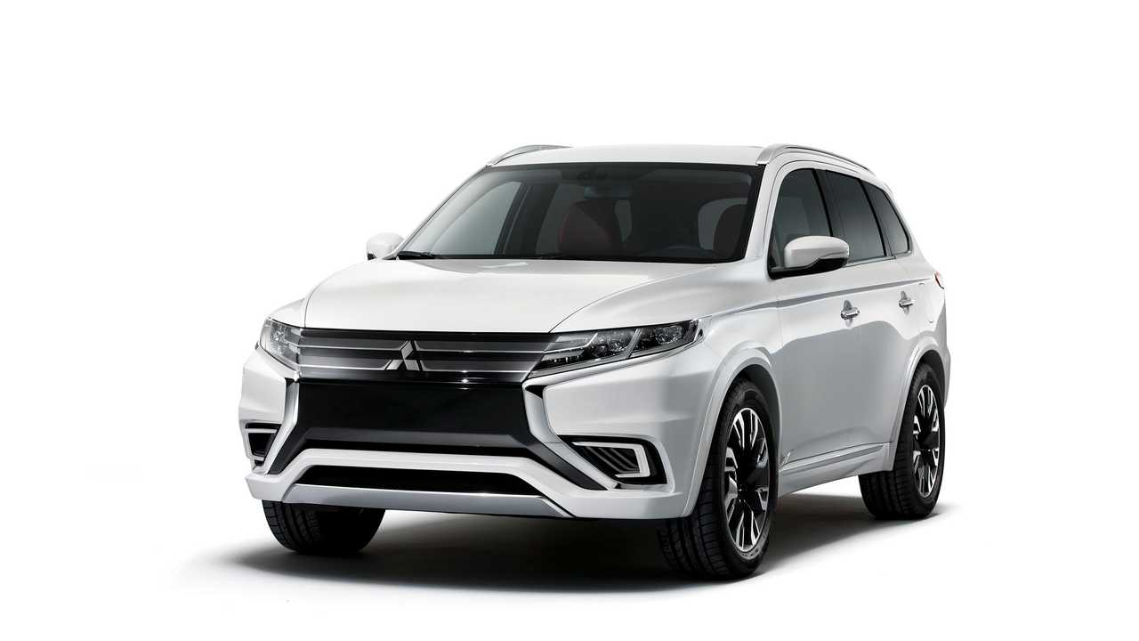 UPDATE: Mitsubishi Outlander PHEV Concept-S - Full Image Gallery