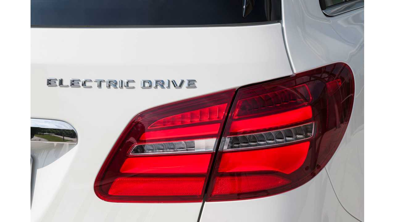 Electric Drive Will Disappear From B-Class In The Near Future. Instead, The Electric B-Class Will Be Known As Simply