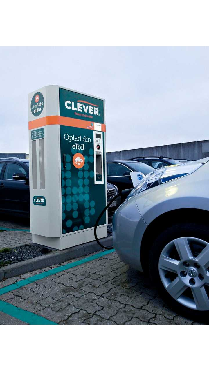 CLEVER charging point in Denmark