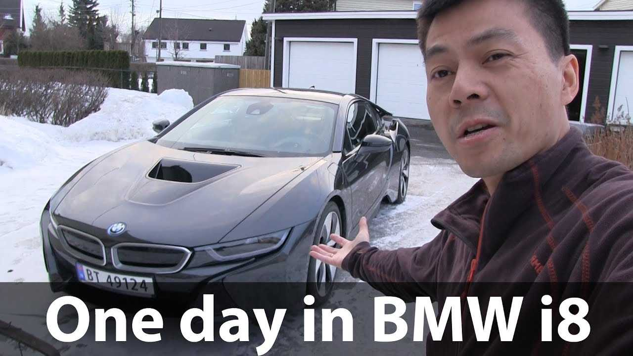 Check Out Bjorn's BMW i8 Test Drive, Fake Exhaust Sounds FTW