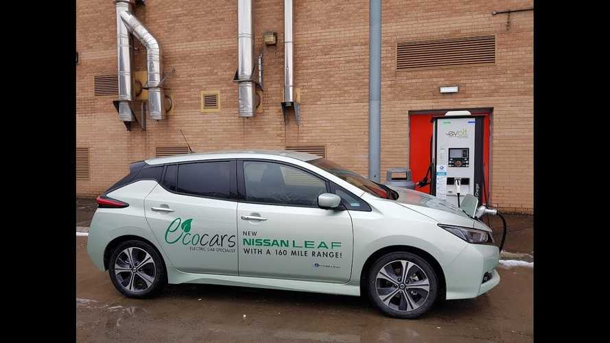 UPDATE - Nissan Responds - Watch 2018 Nissan LEAF 40 kWh Fast Charging Issues