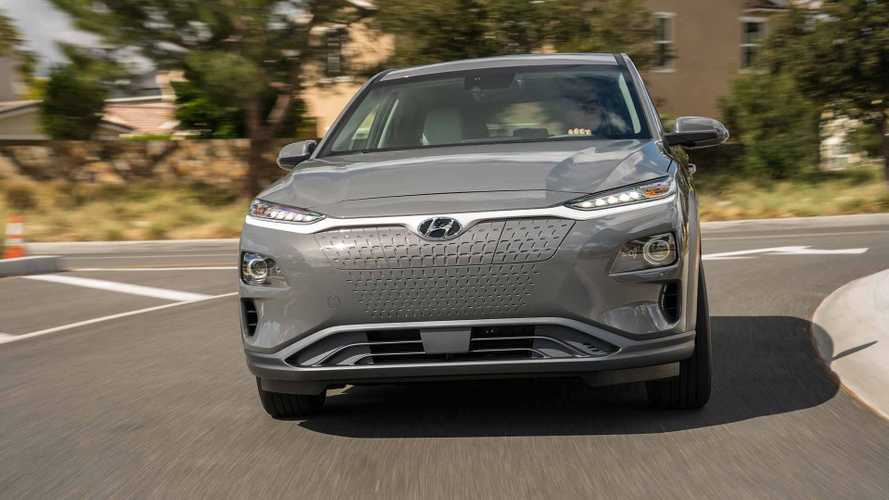Hyundai Kona Electric - 250 Mile Range, 64-kWh Battery For U.S.