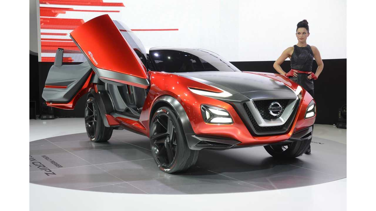 Nissan Gripz Concept With Nissan LEAF Electric Motor