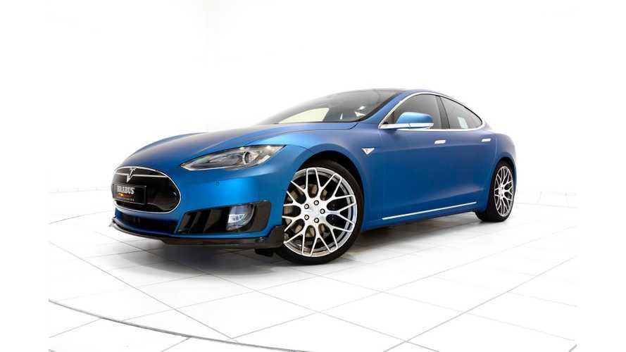 BRABUS Zero Emission Division Unveils Tesla Model S