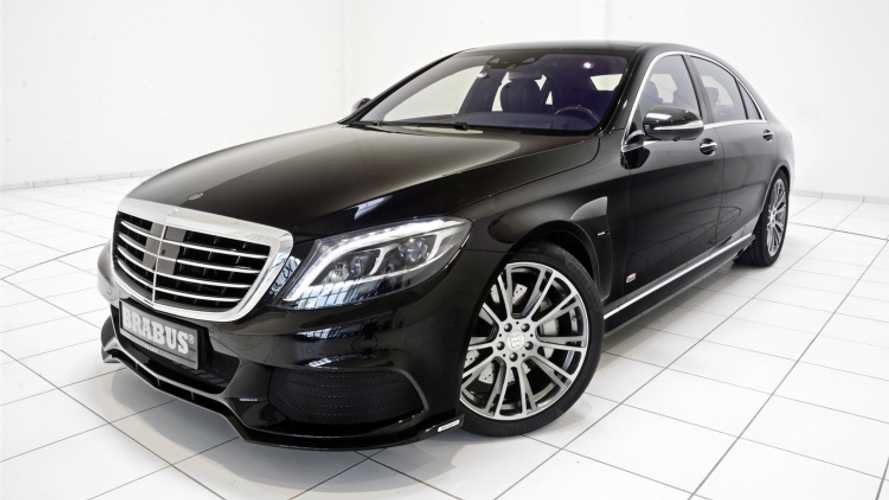 BRABUS PowerXtra B50 Hybrid Is A Souped Up Mercedes-Benz S 500 PHEV