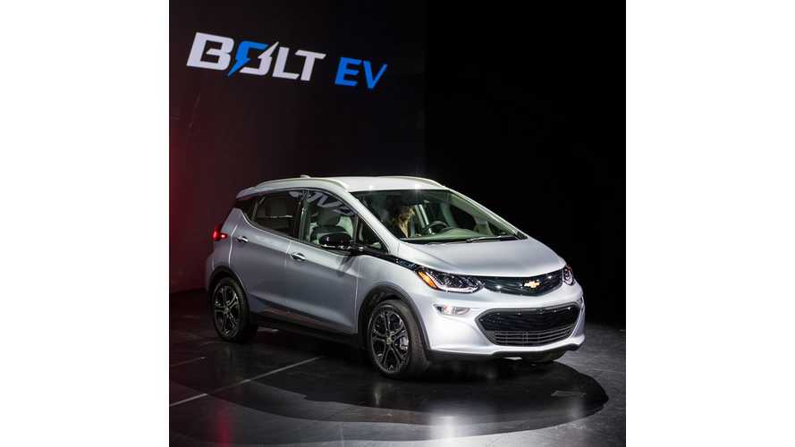 2017 Chevrolet Bolt Debuts - Livestream From CES 2016