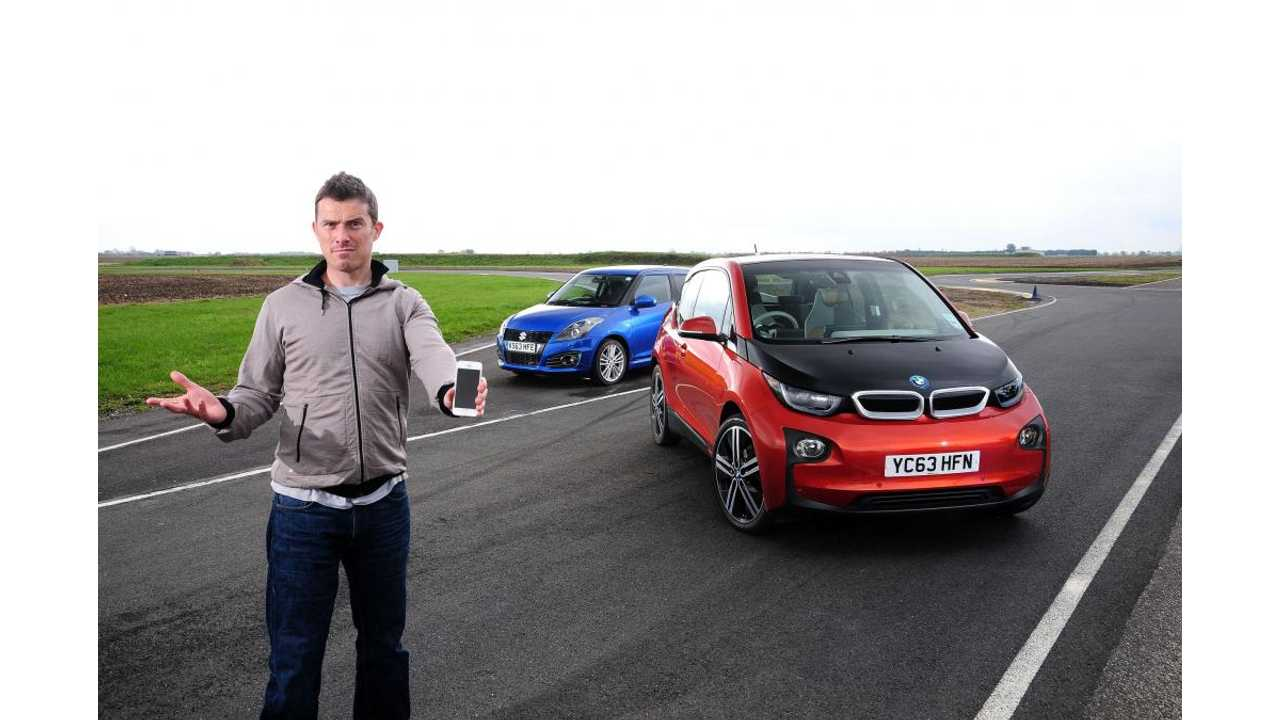 BMW i3 compared to…. Whatever that thing is...