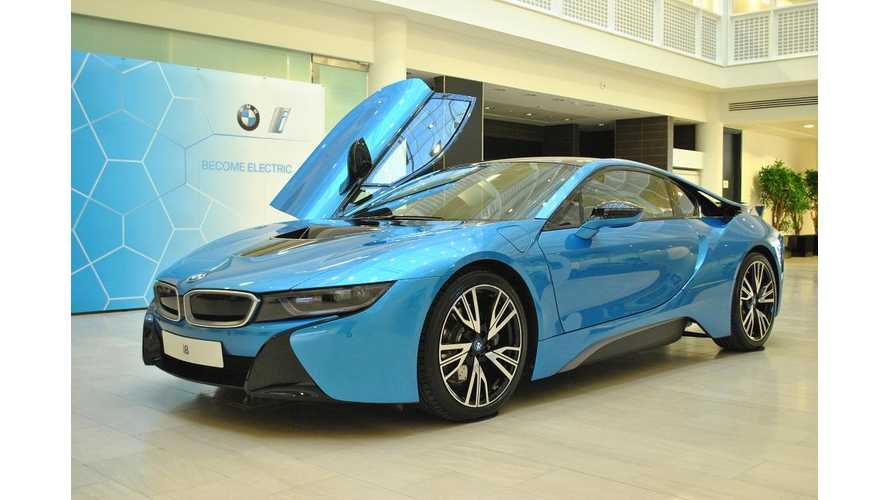 BMW i8 Named UK Car Of The Year 2015