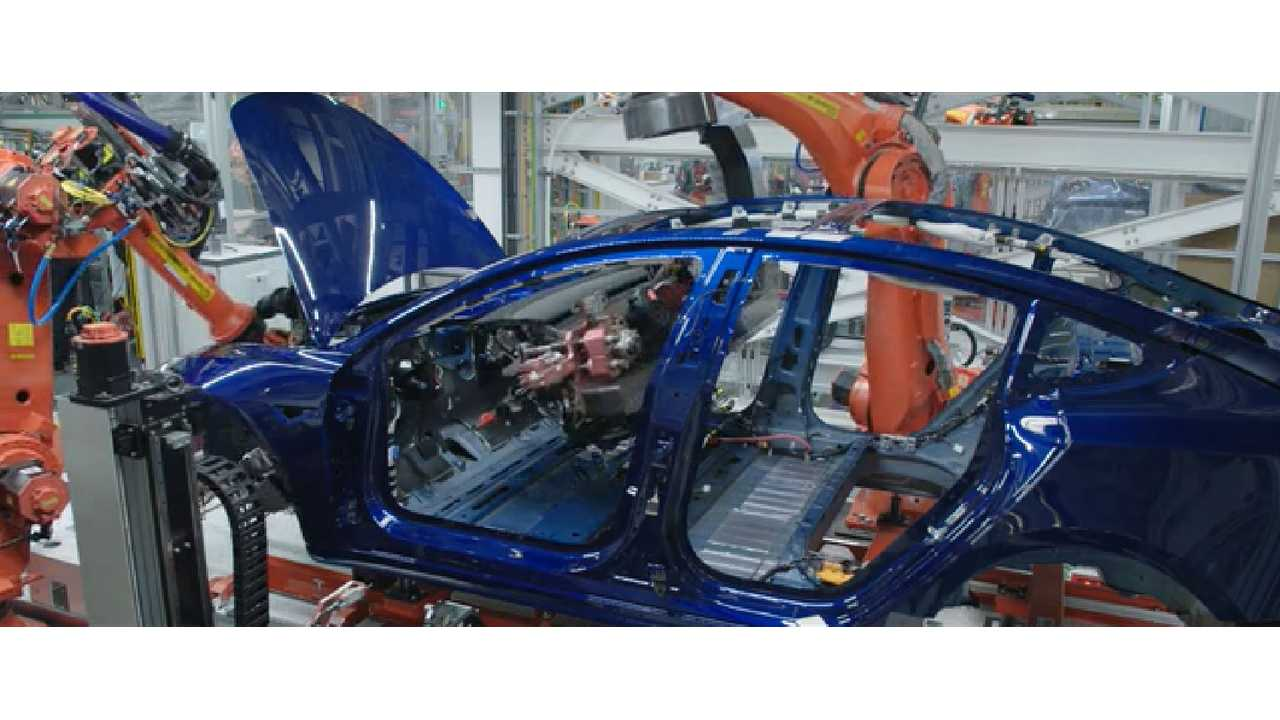 Analyst: New Machines Will Push Tesla Model 3 Production To 8,000/Week