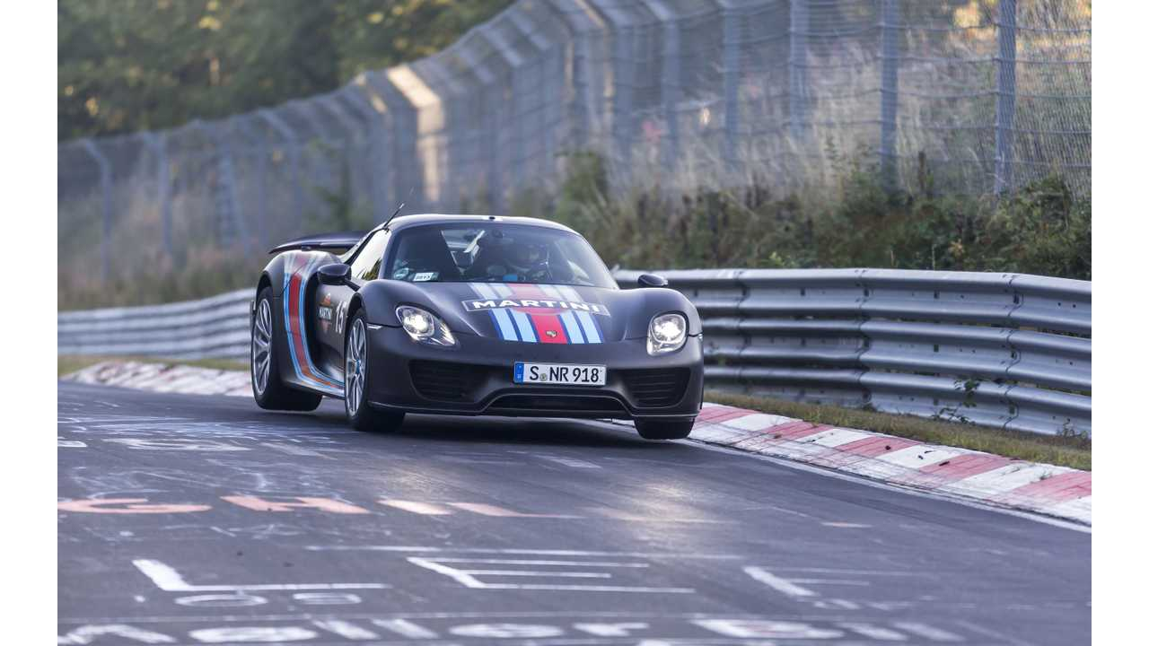 Porsche 918 Spyder Is Officially Sold Out