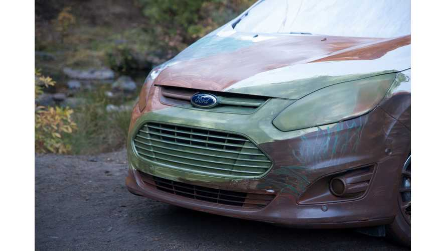 Ford Showcases Electric Cars Through Art - Video