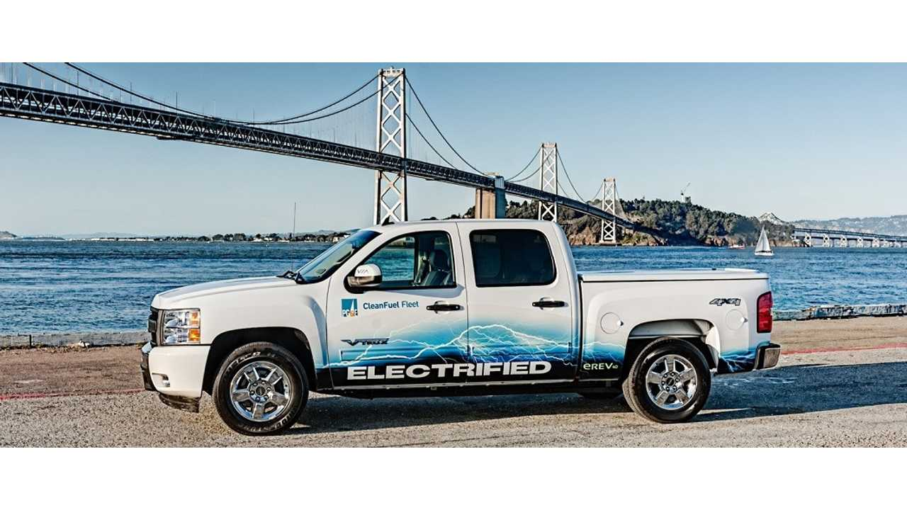 VIA Motors' VTRUX, Extended Range Truck Is Part Of PG&E's 1,200 Strong Electrified Force
