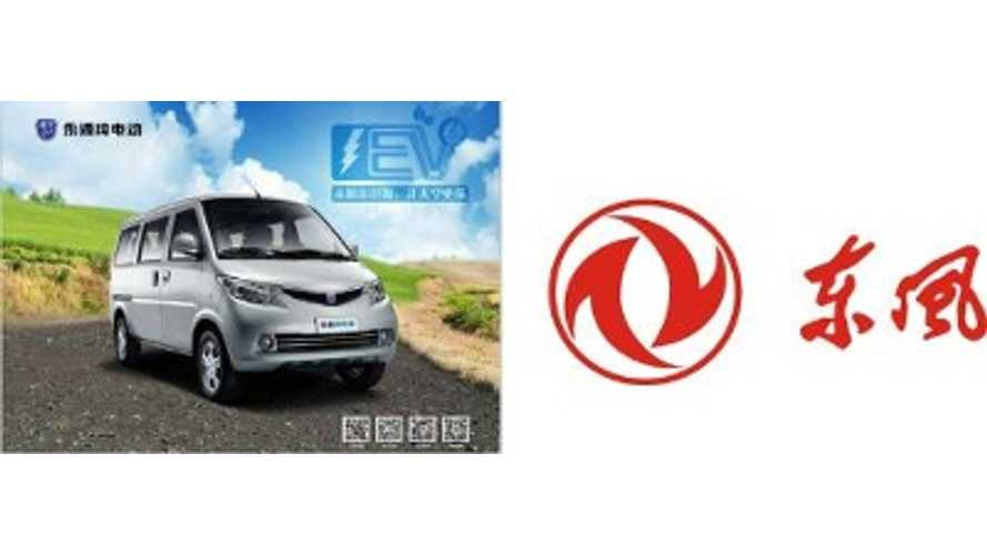 ZAP Jonway Electric Minivan To Be Sold Under Dong Feng Brand In China