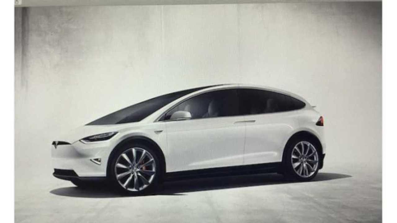 Fake Tesla Model 3 Image