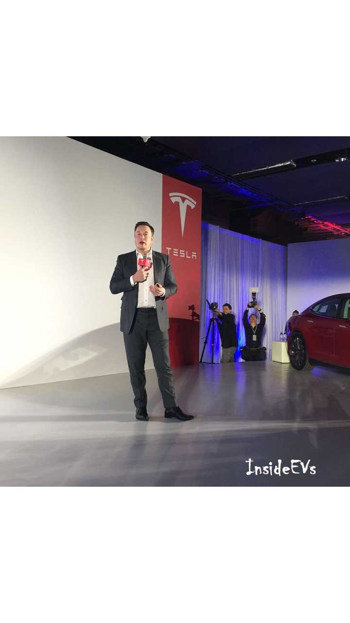 Tesla CEO: Model 3 Entry Level Car To Be produced AfterPremium Version - So 2018ish Maybe?