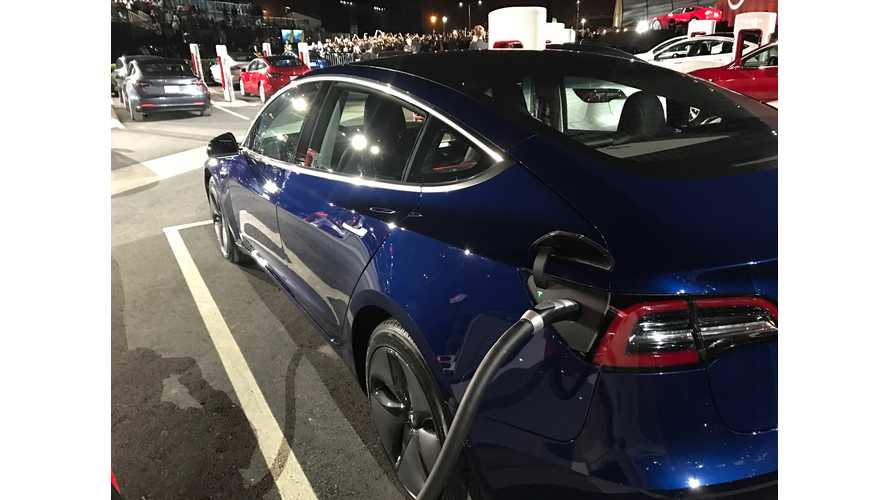 Report: Tesla Model 3 Charges As Fast As Tesla's Flagship 100D