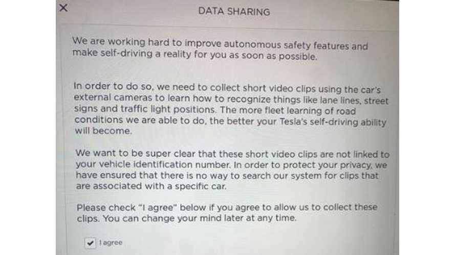Tesla To Improve Autopilot By Collecting Short Video Clips From Cameras On Model S, X