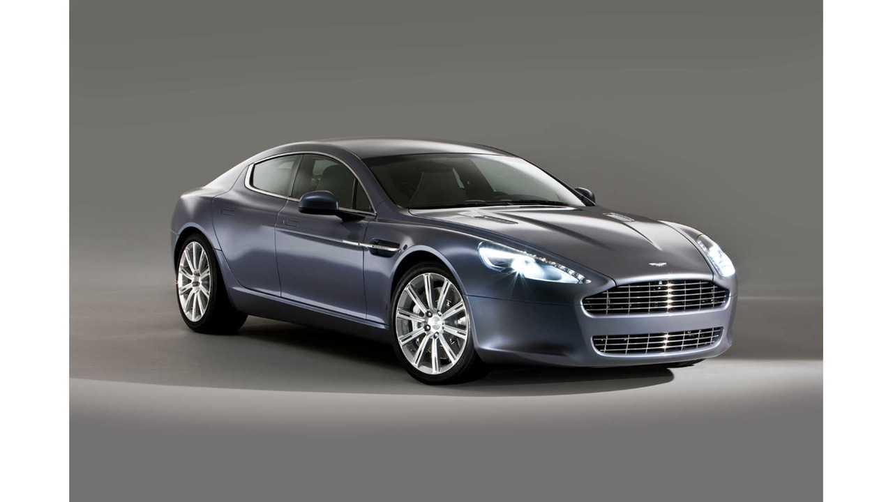 Aston Martin CEO Confirms 2017 Arrival Of 800 HP Rapide Electric Car