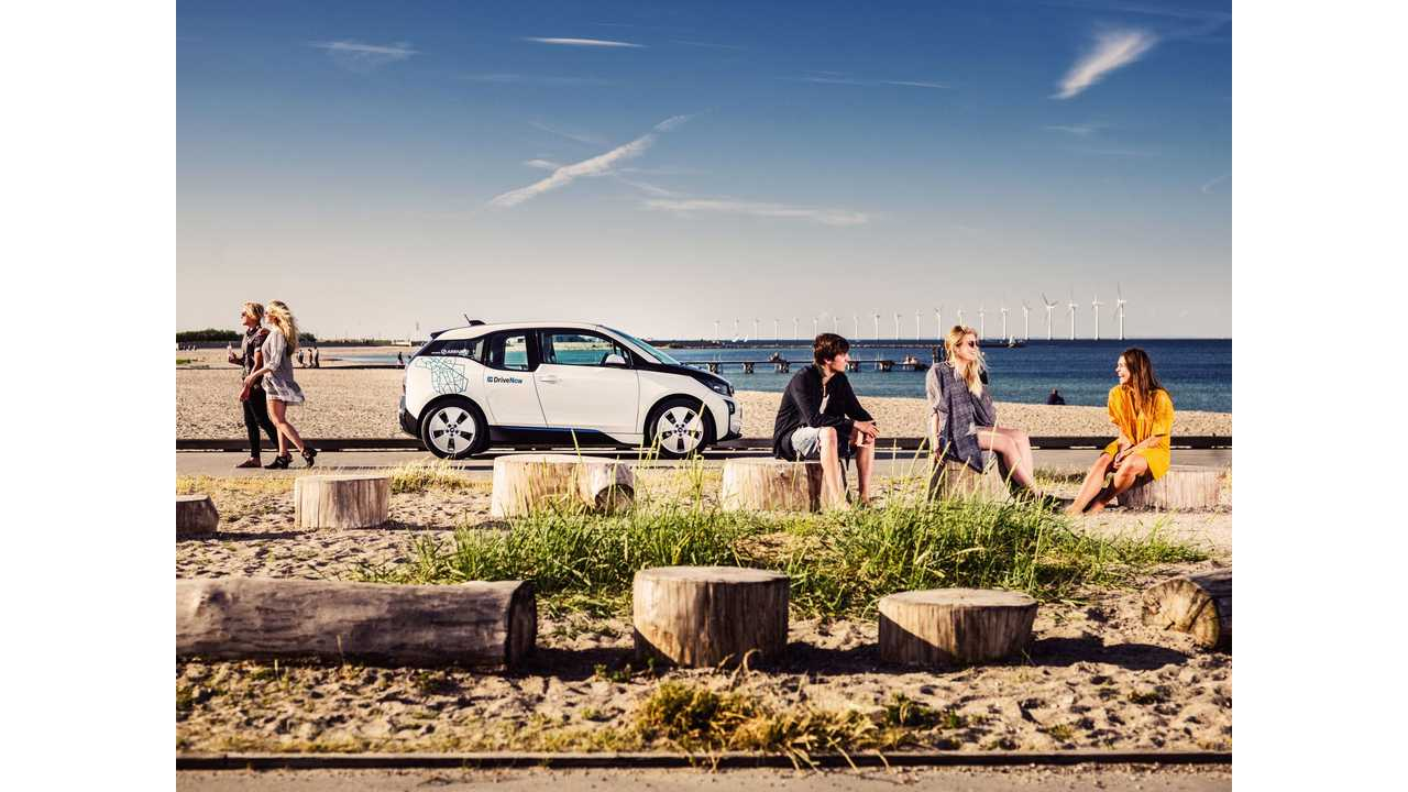The all-electric BMW i3 now also available at DriveNow car sharing in Copenhagen and interconnected with public transport