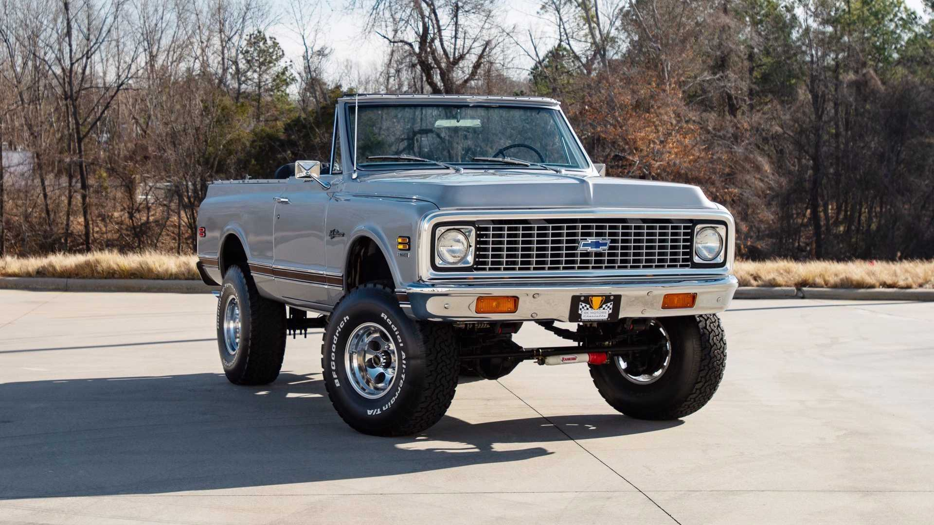 "[""1973 Blazer Convertible Represents A Rising Classic Of Collectibles""]"