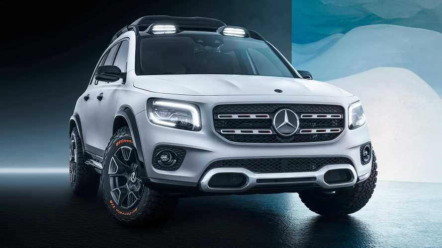 Mercedes-Benz GLB Concept estreia com visual off-road e 7 lugares