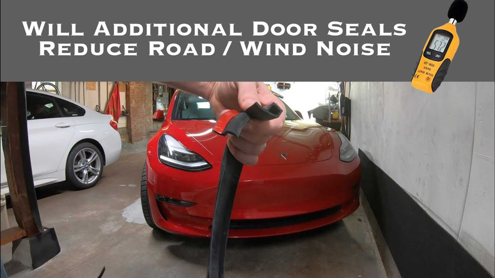 How To Reduce Wind & Road Noise In Tesla Model 3: Video