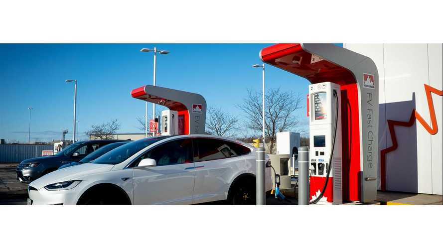 Petro-Canada To Equip Fuel Stations With Fast Chargers