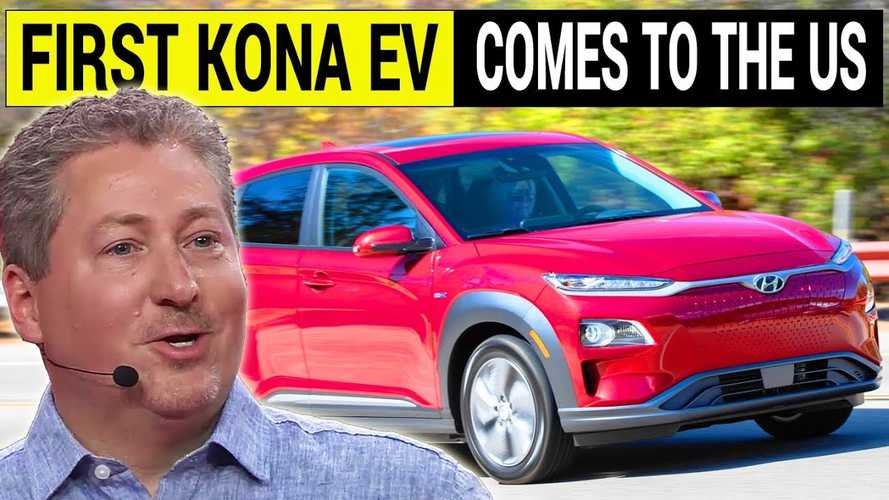 Plugged In: First U.S. Kona Electric Delivery, Hyundai EV Strategy
