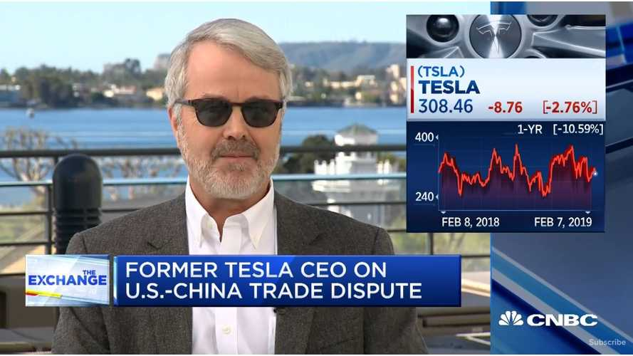 Tesla Co-Founder Martin Eberhard On EV Growth: Video