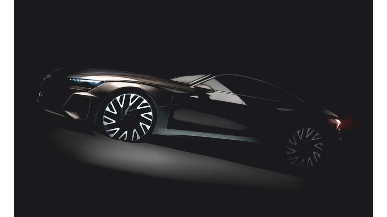 Audi Says E-Tron GT Will Outsprint Tesla Model S P100D