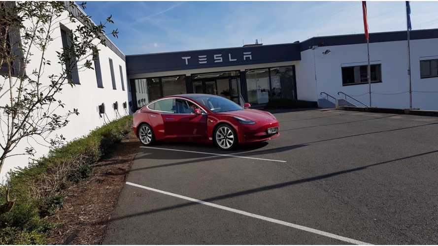 Get Ready Germany, The Tesla Model 3 Is About To Arrive