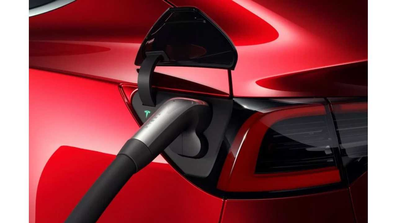 Tesla Model 3 With CCS Combo Inlet, S & X With CCS Adaptor In Europe