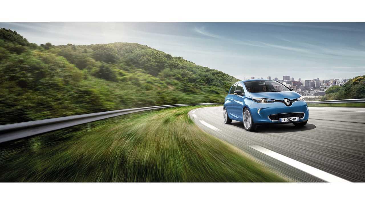 Renault ZOE - Now with 400 km* range (NEDC)