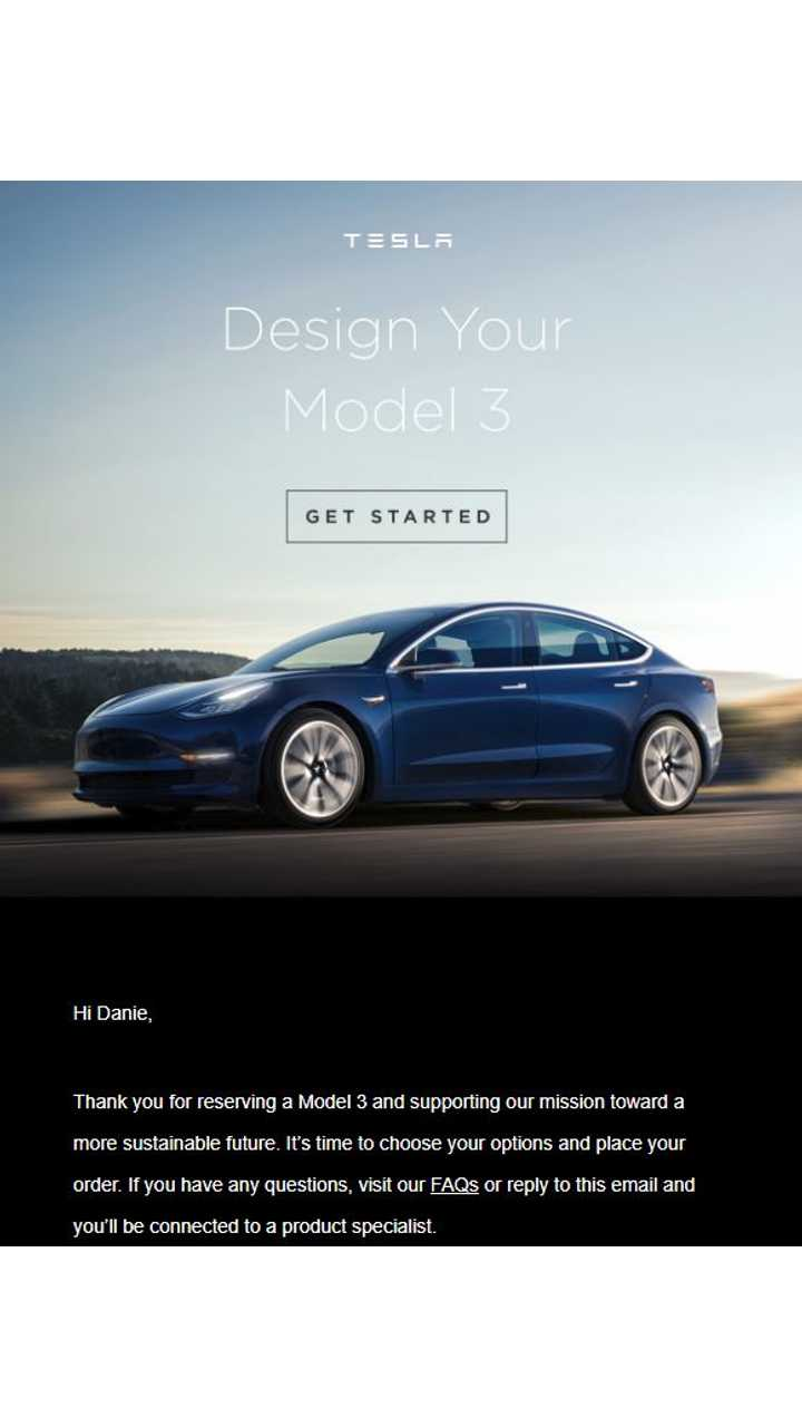 UPDATE: Non-Employees Finally Get Invite To Order Tesla Model 3