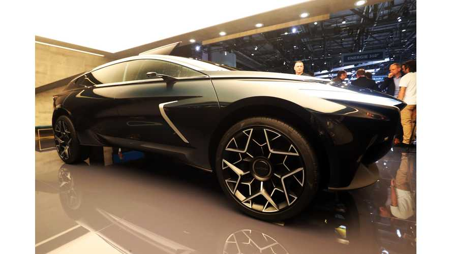 Lagonda All-Terrain Electric Concept Is A Bit Wild: Photos/Videos