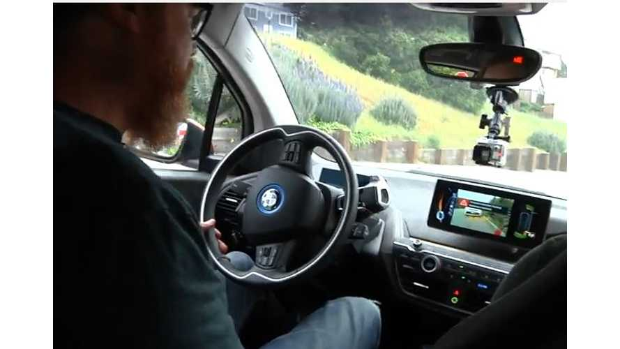 BMW i3 - Self-Parking Gone Wrong - Video