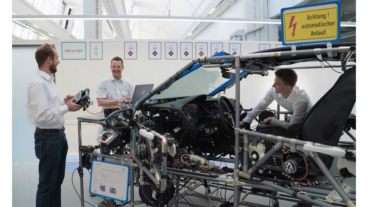 VW Begins Training Experts For Electric I.D. Production