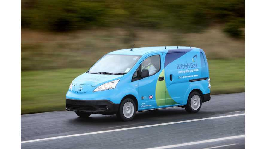 Nissan e-NV200: Winter Operations With British Gas - Video