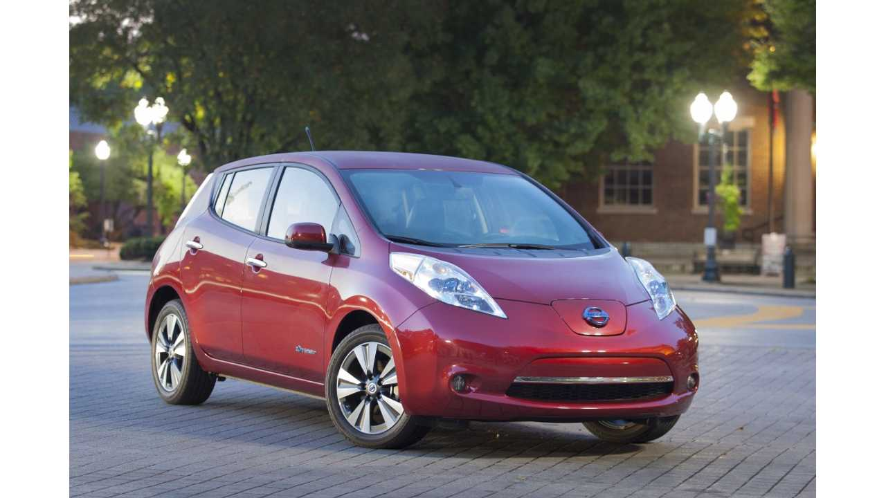 Exclusive: Here's Why Nissan Recommends Changing LEAF Brake