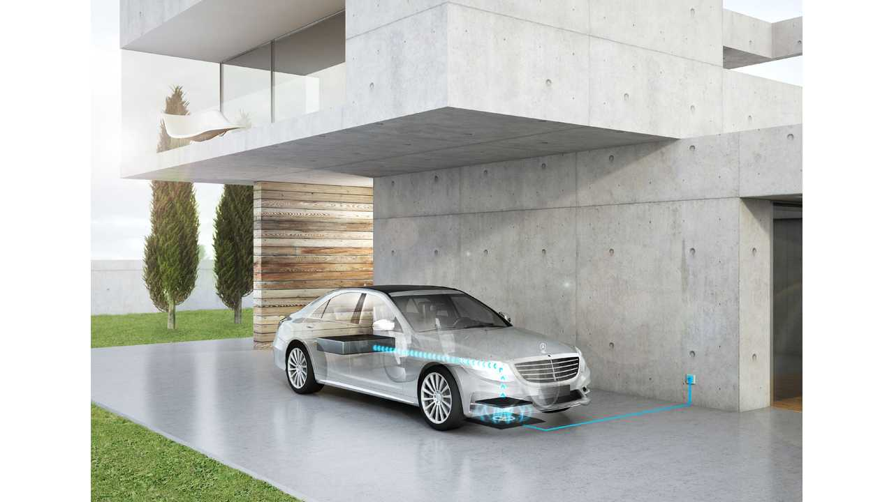 Daimler Teams With BMW To Develop/Implement Wireless Charging