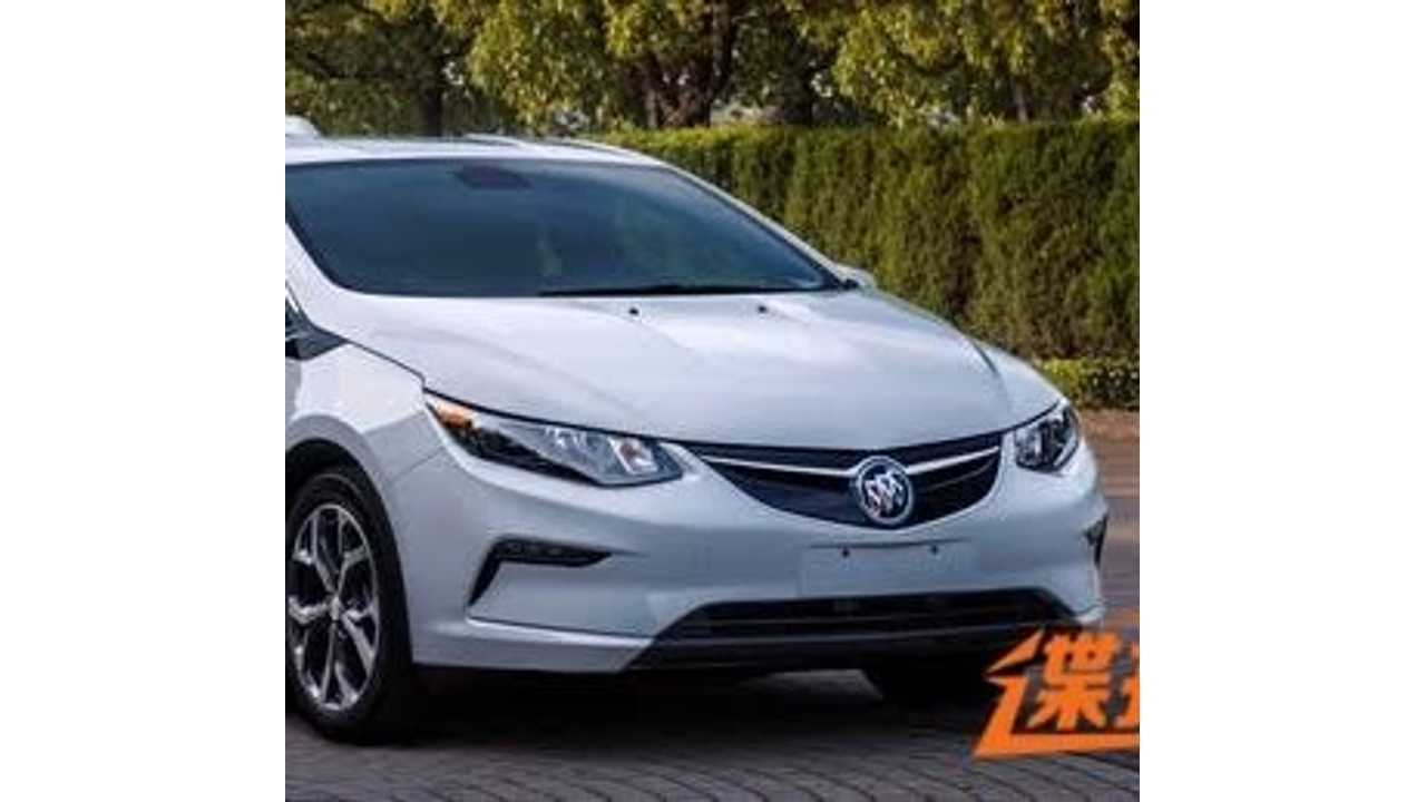 Buick Velite (AKA China's Chevrolet Volt) To Debut At Guangzhou Auto Show In Mid November