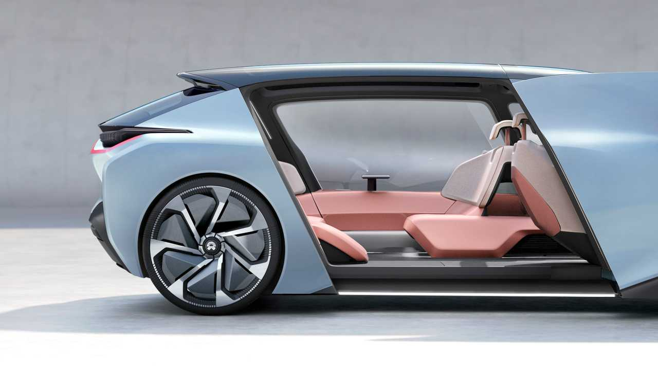 NIO EVE, autonomous vision car of the future