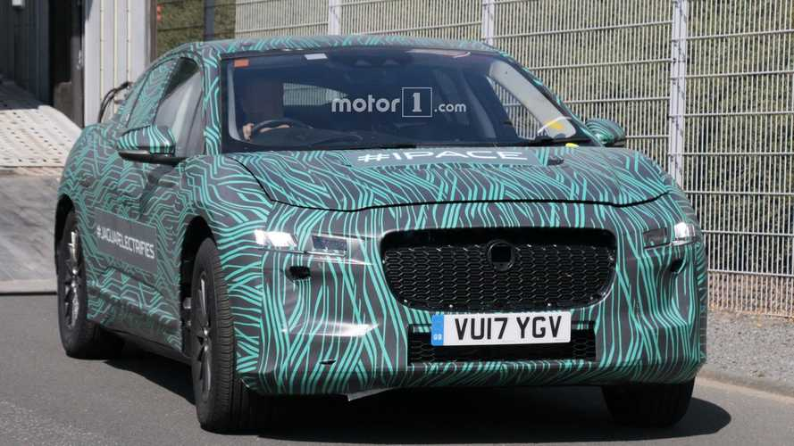 Jaguar I-Pace Production Now Underway