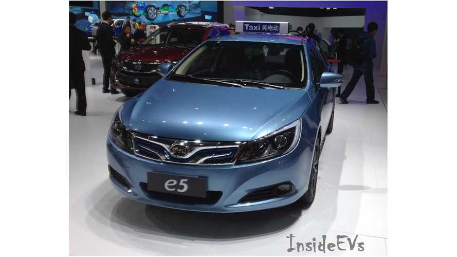 BYD Exceeds 8,600 Plug-In Vehicle Sales In May, Nearly Meeting 2016 Result For First Time
