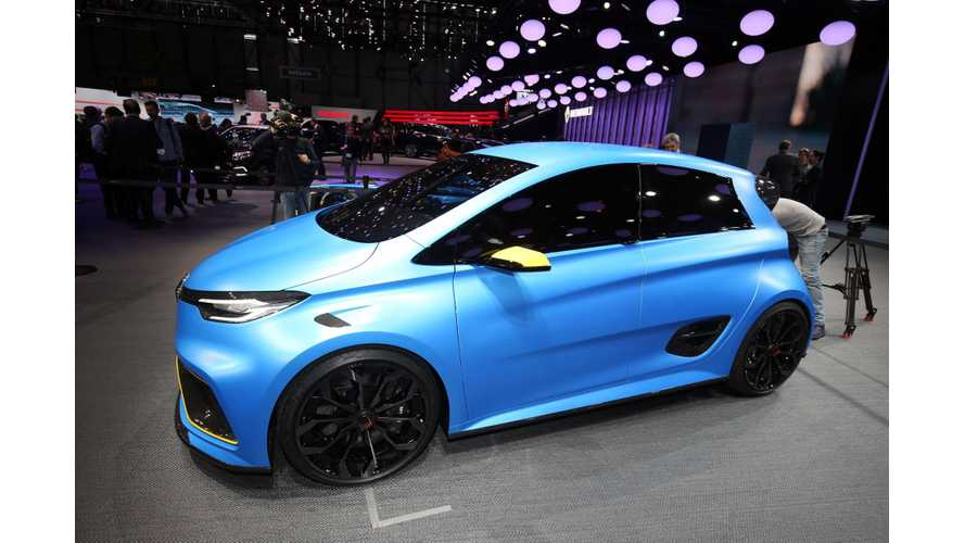 Renault Zoe E-Sport At Geneva Motor Show - Photos & Videos