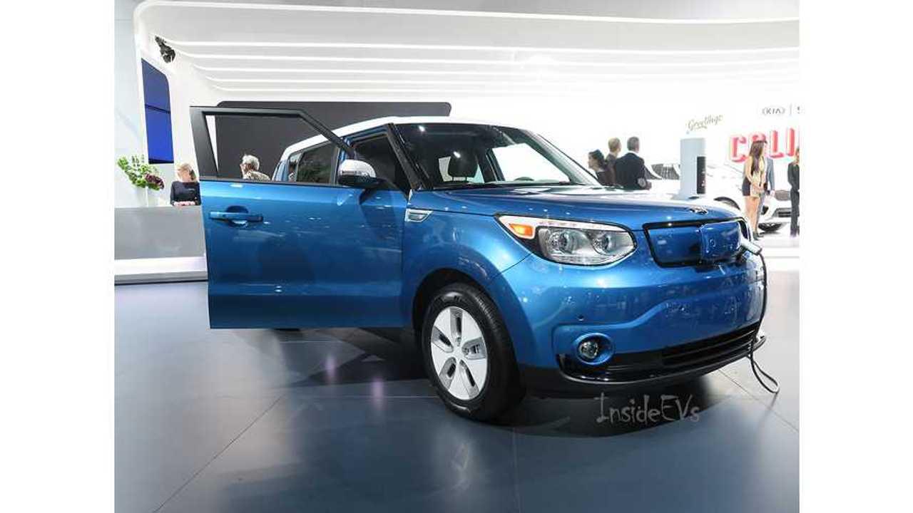 Kia Soul EV - Exclusive Rollout Information & Live Images From 2014 LA Auto Show