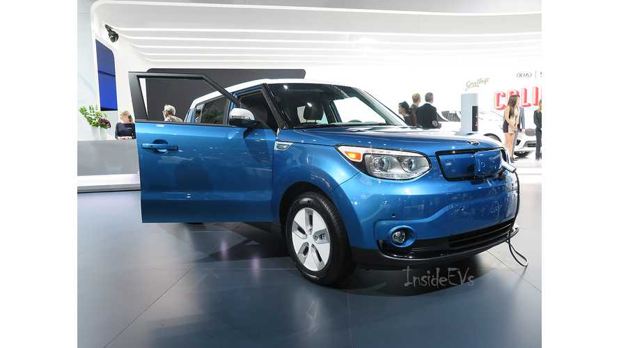 Kia Soul EV - Exclusive Rollout Information & Live Images From 2014 LA Auto Show