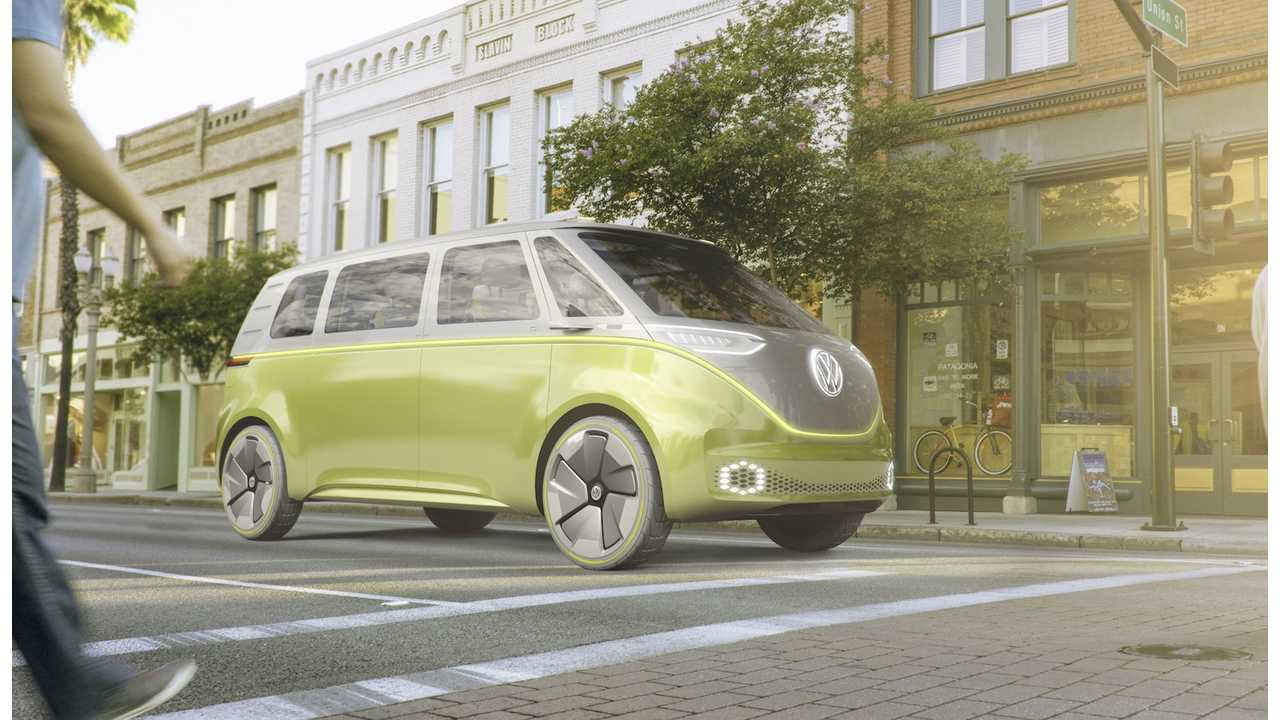 VW ID Buzz: 111 kWh battery, good for ~270 miles of range (EPA/600 km on NEDC)