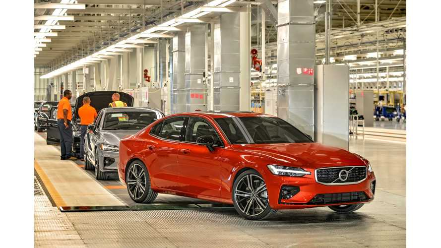 Volvo's new manufacturing plant in South Carolina, USA and first Volvo S60